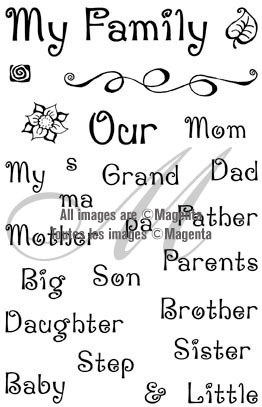 Family Theme Stamps