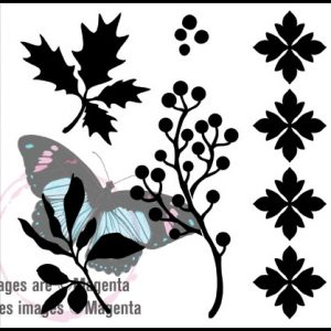 "Trio Templates - Trees & Foliage - 6"" x 6"""