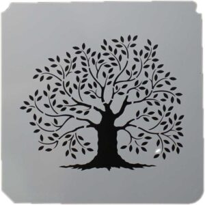 Primitive Tree Stencil 8x8