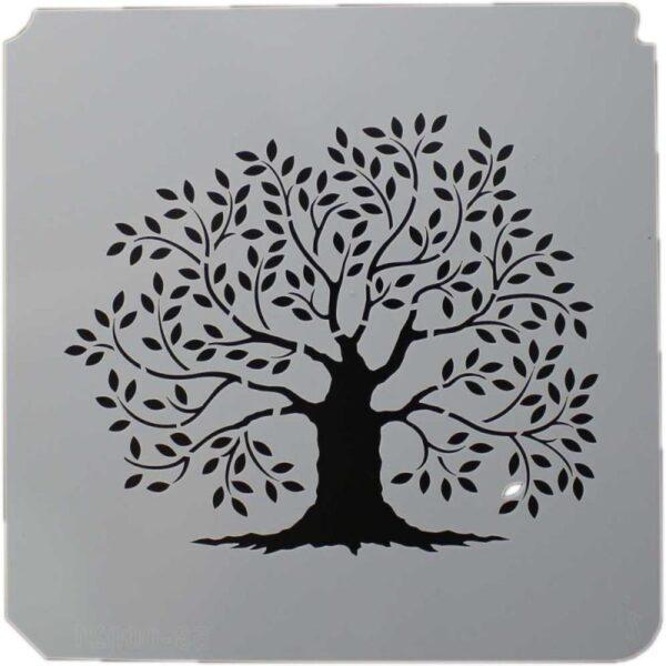 Primitive Tree Stencil 8x8