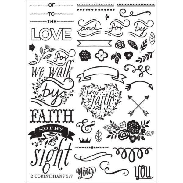 Love - Faith - Scrap - Elements