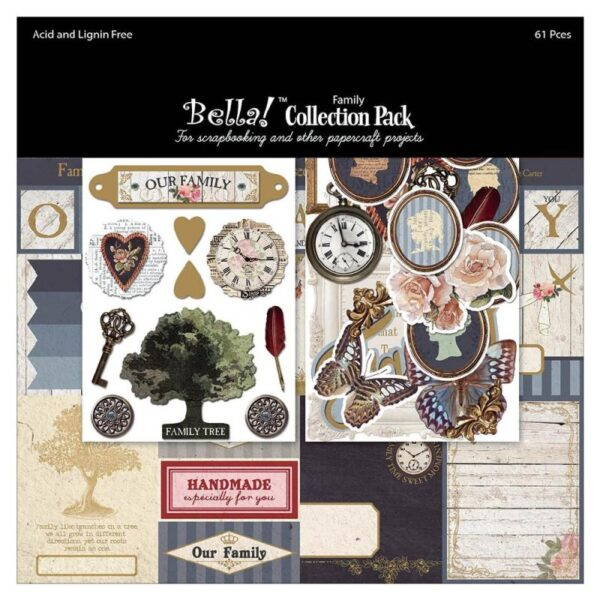 "Bella! Family - Collection Pack 12""X12"""