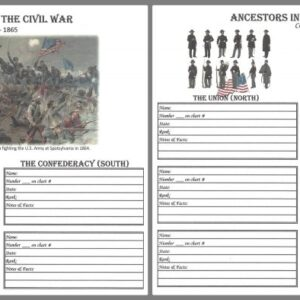 Civil War Ancestors