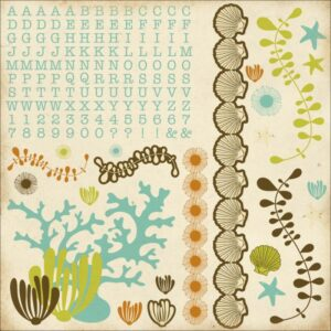 Rock Pool Collection - Sticker Sheet