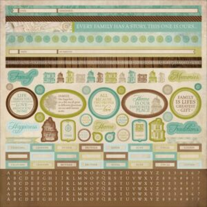Heirloom Collection - Sticker Sheet