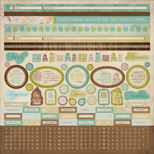 Heirloom Collection - Sticker Sheet