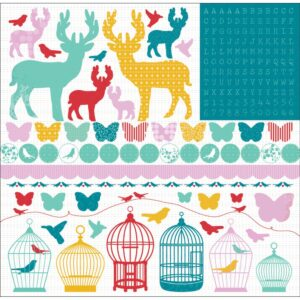 Hummingbird - Cardstock Stickers