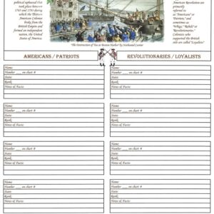 Family - Downloadable - Ancestors in the American Revolution