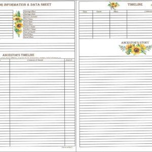 Family - Downloadable - Ancestor Timeline & Story