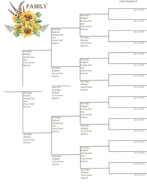 Family - Downloadable - Pedigree Chart 2