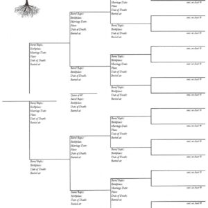 Our Roots - Downloadable - Pedigree Chart 2
