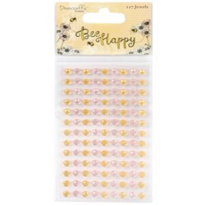 Bee Happy - Pastel Pink & Gold Jewels