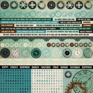 Time Machine - Cardstock Stickers