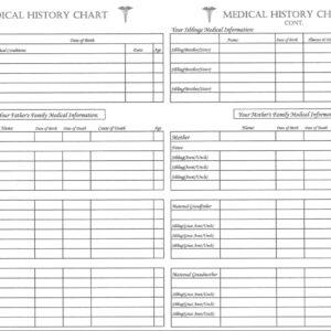 Medical History Chart