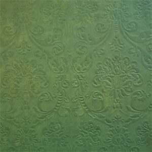 Patterned Damask Embossed Paper