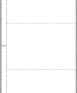 "Page Protectors - 6""X 12"" - Side Loading"