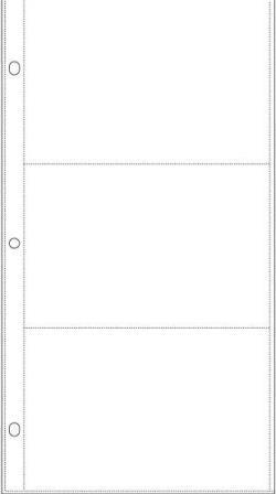 """Page Protectors - 6""""X 12"""" - Side Loading"""