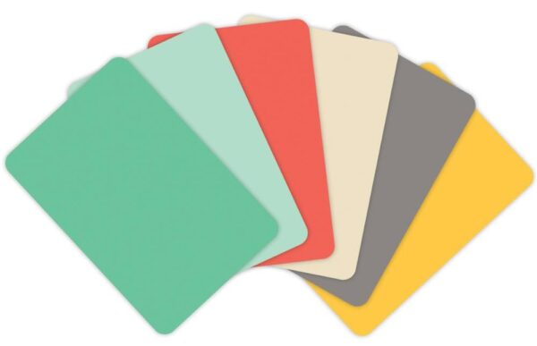 """Project Life - 3""""X4"""" Textured Cardstock - Jade Edition"""