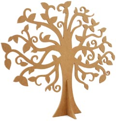 Duchess Collection - Beyond The Page MDF Large Family Tree