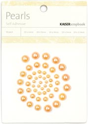 Pearls - Self Adhesive - Mango