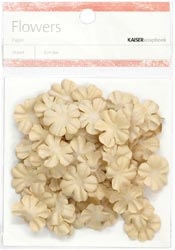 Paper Flowers - 2cm - Taupe