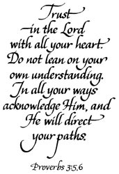 Stampendous - Trust In The Lord (Proverbs 3:5)