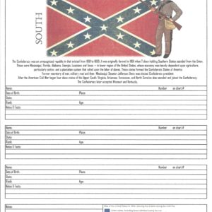 Family - Downloadable - Ancestors in the Civil War - South