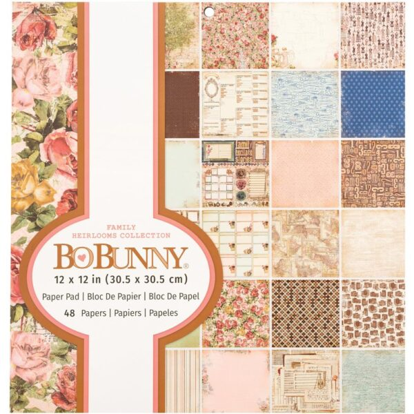 Family Heirloom Paper Pack by Bo Bunny