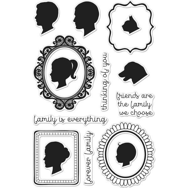 Hero Arts - Family Portrait - Clear Stamps