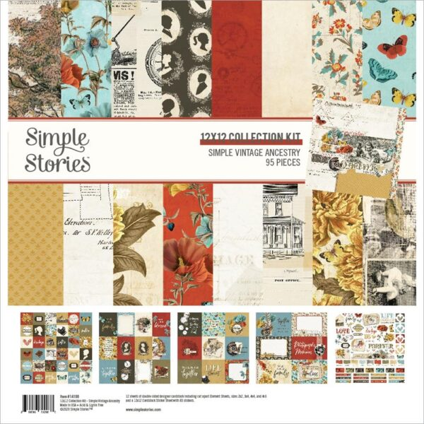 Simple Vintage Ancestry - Collection Kit