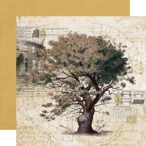 Simple Vintage Ancestry - Family Tree