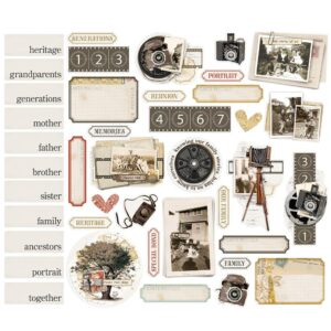 Simple Vintage Ancestry - Ephemera Bits & Pieces