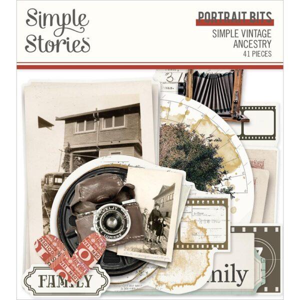 Simple Vintage Ancestry - Ephemera Bits & Pieces
